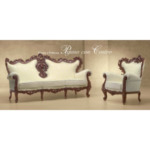 Sedací nábytek Pegaso con centro