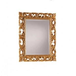 Zlaté zdobené zrcadlo