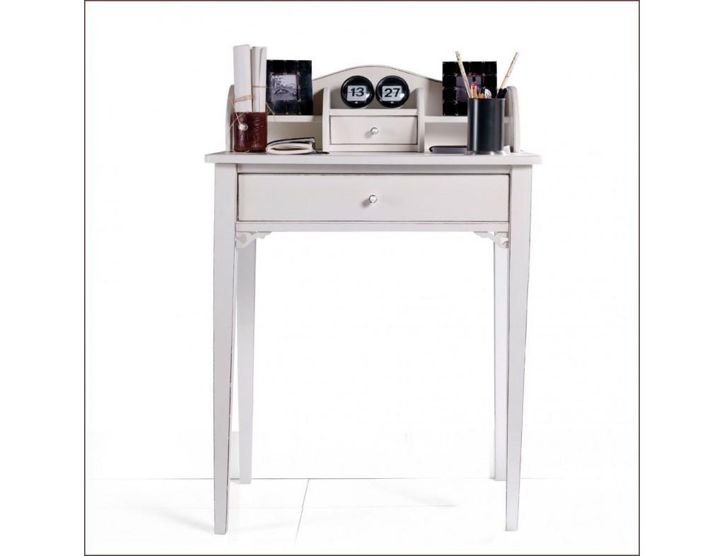 Malý psací stolek s nádstavbou