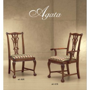 Židle Agata s područkami