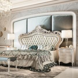 Exkluzivní italská postel s čalouněním