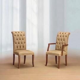 Čalouněná jídelní židle