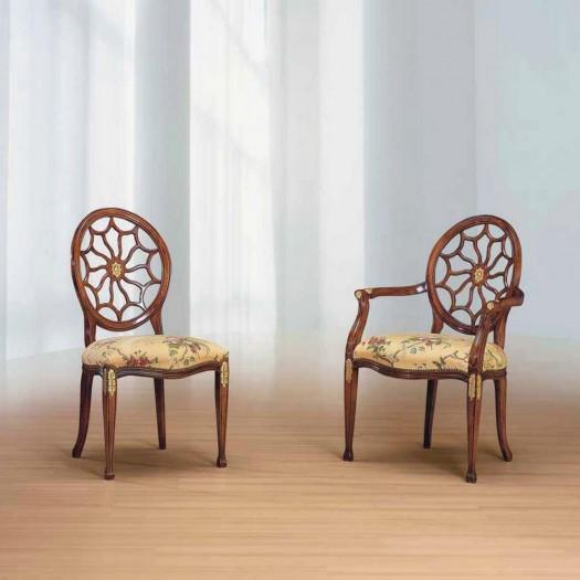Dřevěná židle Spider