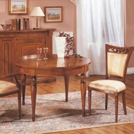 Kulatý jídelní stůl s rozkladem