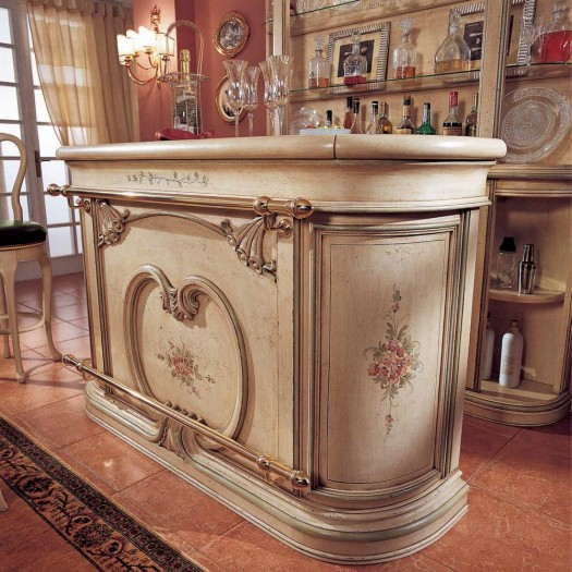 Ručně malovaný barový pult
