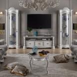 Bílá obývací sestava Vittoria
