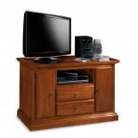 Jednoduchý vintage TV stolek